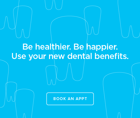 Be Heathier, Be Happier. Use your new dental benefits. - Dentists of Rowlett